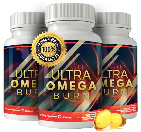 Ultra Omega Burn Supplement