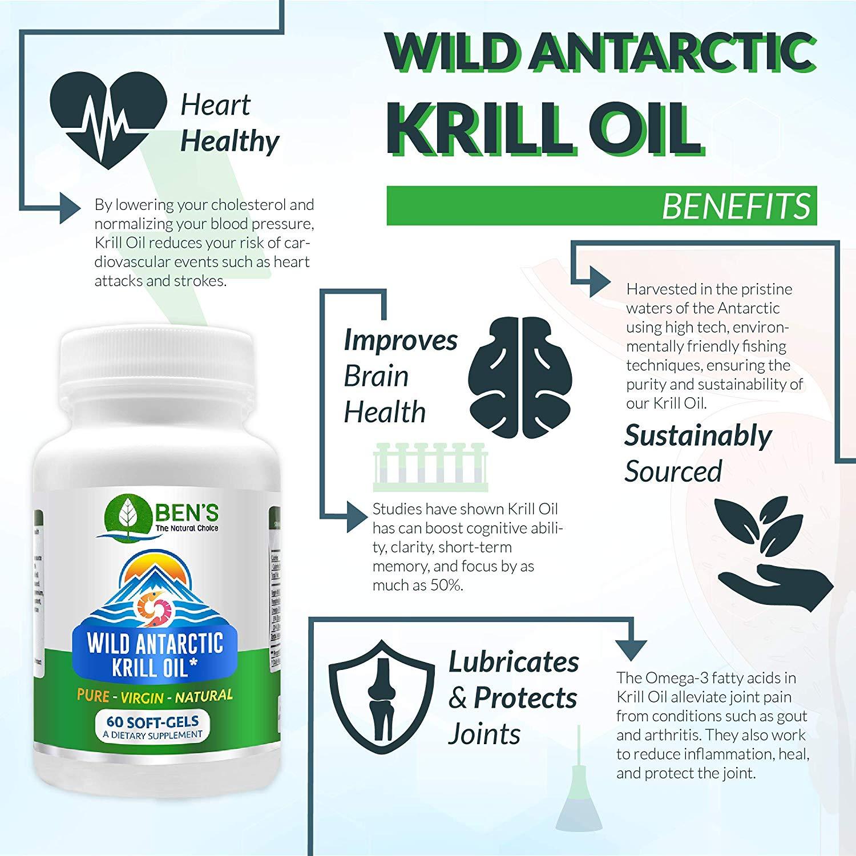 Ben's Wild Antarctic Krill Oil Reviews