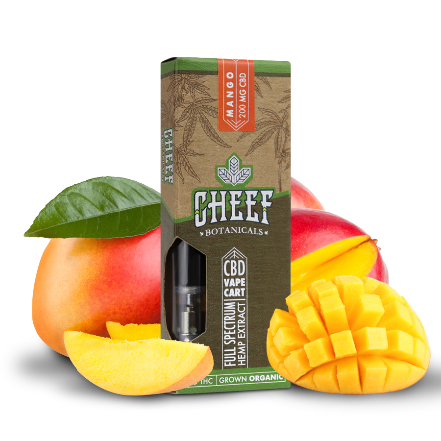 Cheef Botanicals CBD Vape Cartridges Mango Review - Safe to Use?