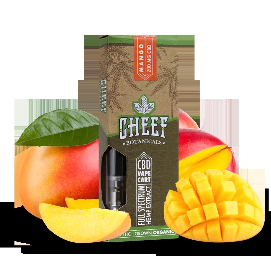 Cheef Botanicals CBD Vape Cartridges Mango Review - Safe to Use?