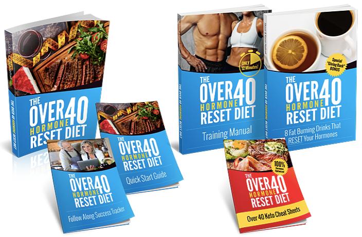 Over 40 Hormone Reset Diet Book