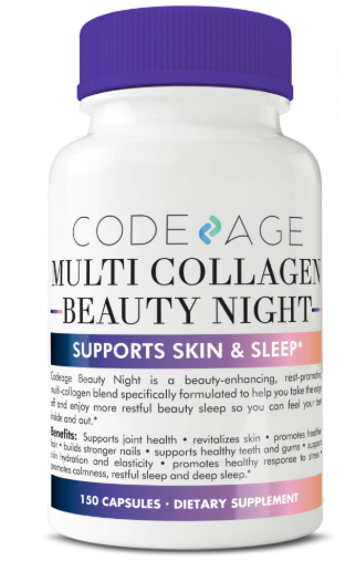 Code age Multi Collagen Beauty Night - Supports All Types of Skin?