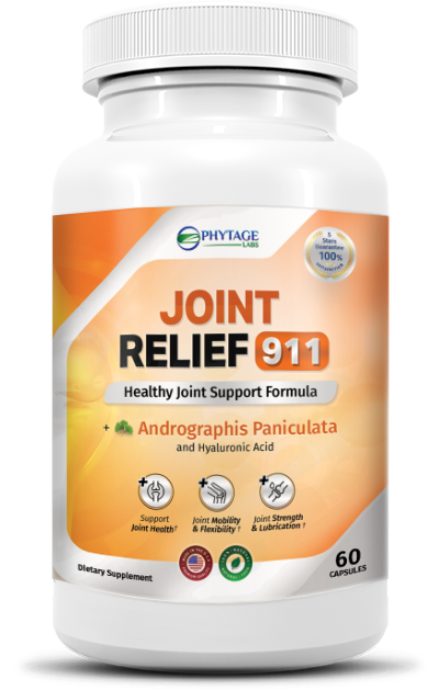 Joint Relief 911 Reviews - Are Used Ingredients Safe & Effective?