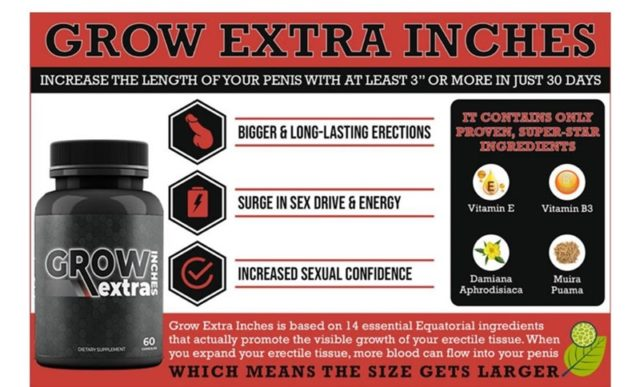 Grow Extra Inches Pills Review