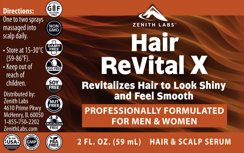 hair revital x pills