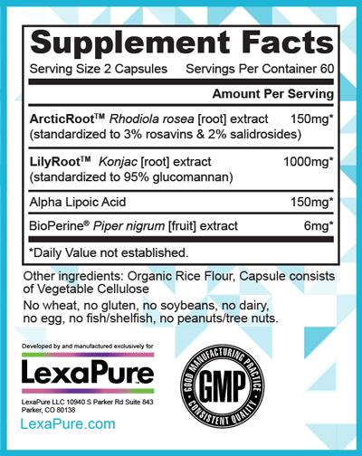 Lexapure Lumaslim Benefits