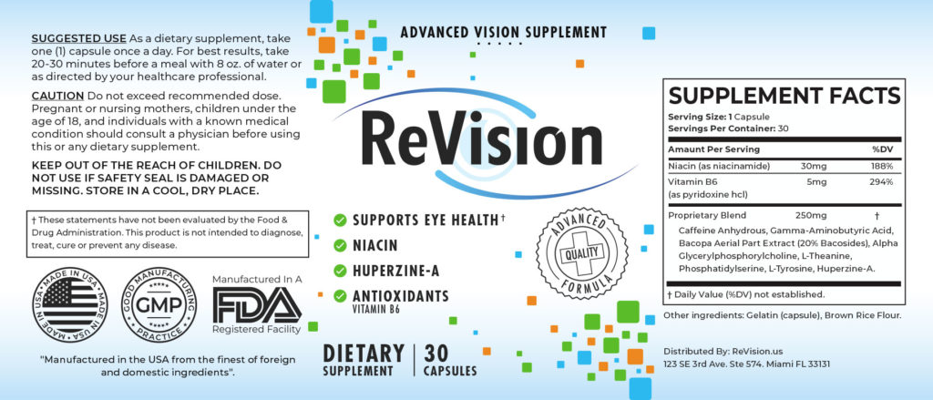ReVision Review - Advanced Vision Dietary Supplement 2020