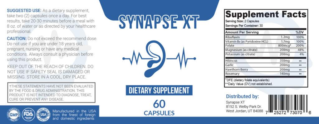 Syapse XT Label