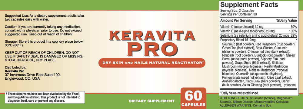 Keravita pro Supplements