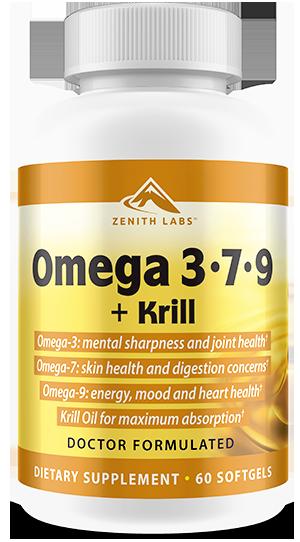 omega 3-7-9 plus krill pills