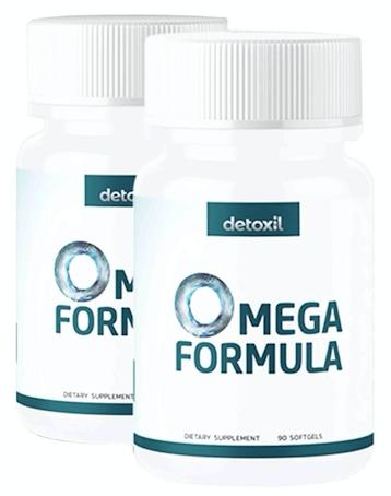 Detoxil Omega Formula Pills