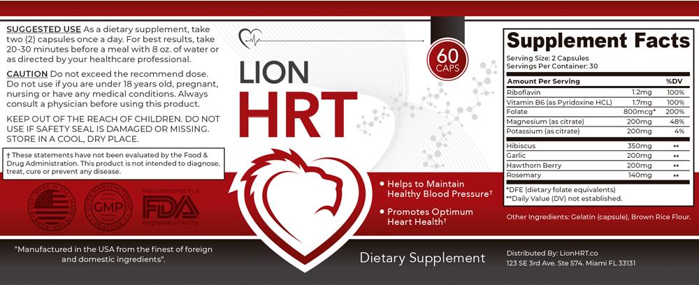LionHRT Supplement