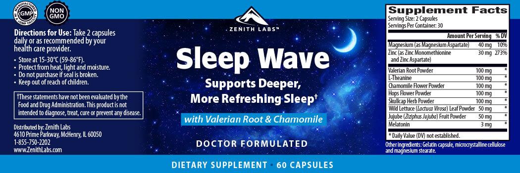 Sleep Wave indgredients