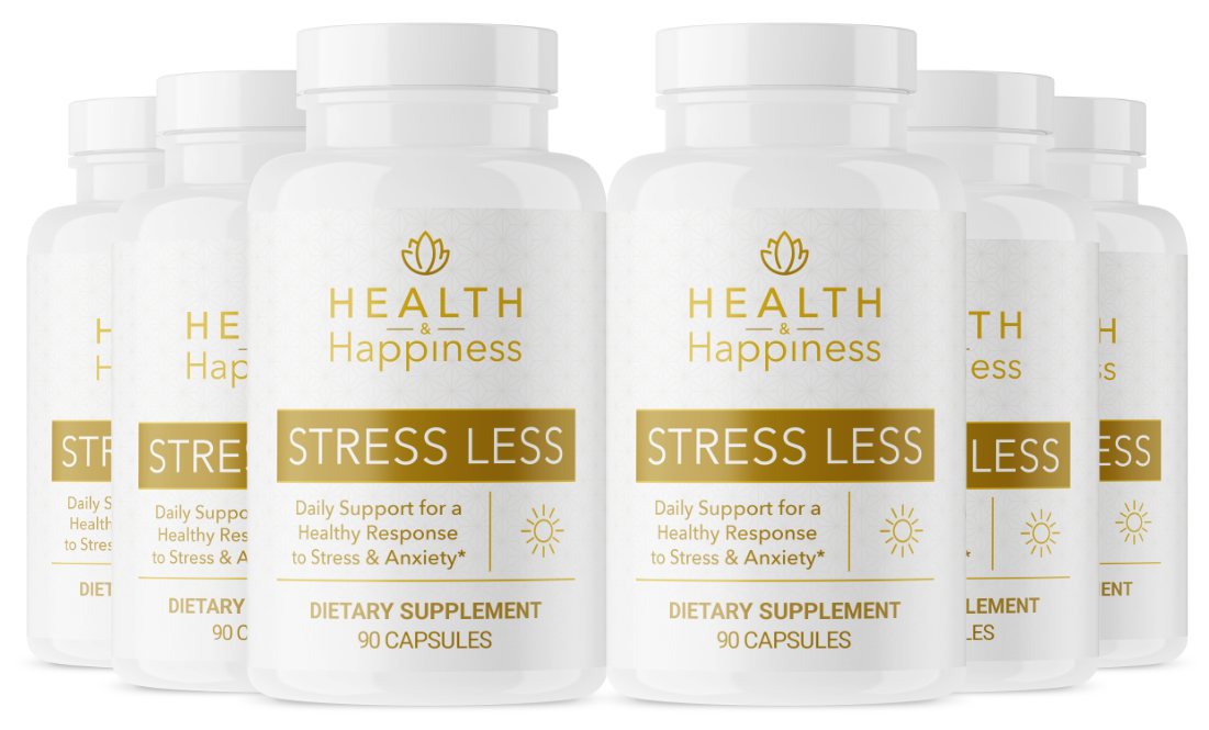 Health and Happiness Stress Less Supplement Reviews