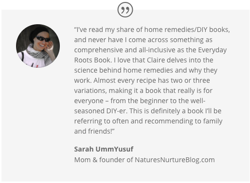 The Everyday Roots Book Testimonials