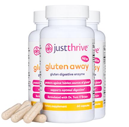 Just Thrive Gluten Away Reviews
