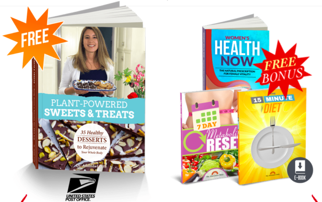 Plant Powered Sweets and Treats Cookbook Reviews