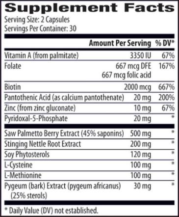 BioRecharge Hormonal Support Ingredients