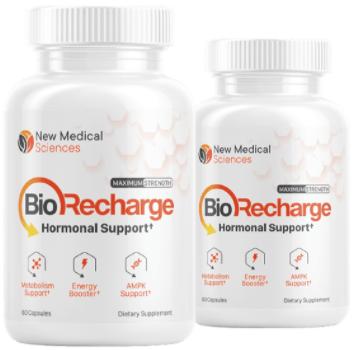 BioRecharge Hormonal Support Supplement